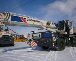 Самоходный кран ZOOMLION RT25